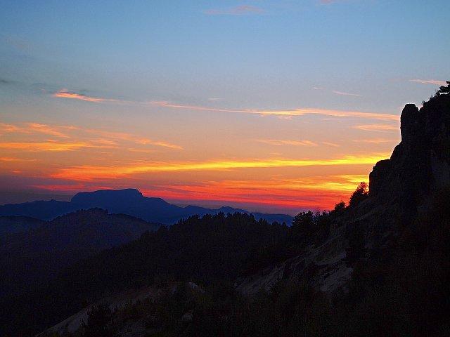 Sunst in Rosia Montana